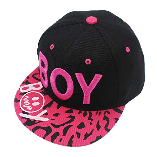 New Spring Summer Baby 3D Letter Cap boy Adjustable Baseball Cap 3-8 Years Kids Snapback Hip-Hop Hats Sun Hat Pink