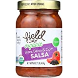 Field Day Salsa Organic Black Bean and Corn, 12 Count