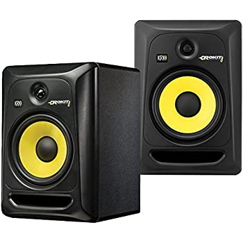 2 krk rp8 g3 rokit active 8 inch studio reference monitors latest gen with. Black Bedroom Furniture Sets. Home Design Ideas