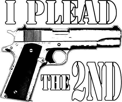 45 Auto ACP 1911 Model Handgun Pro Guns Firearms 2nd Amendment 357 9mm Decal By Achtung T Shirt LLC