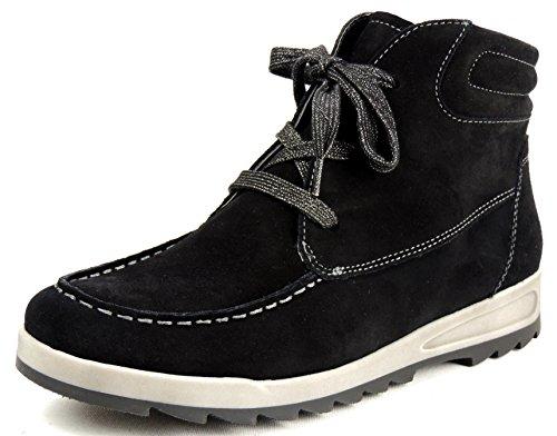 ara WoMen ROM Desert Boots Black (Schwarz 91)