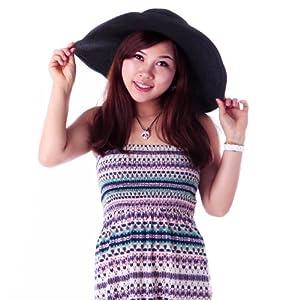HDE Women's Floppy Packable Wide Brim Sun Shade Derby Beach Straw Hat