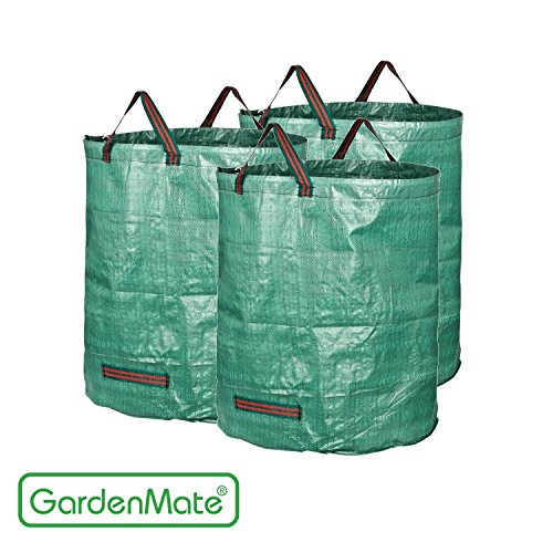 GardenMate 3-Pack 72 Gallons Garden Waste Bags (H30, D26 inches) by GardenMate