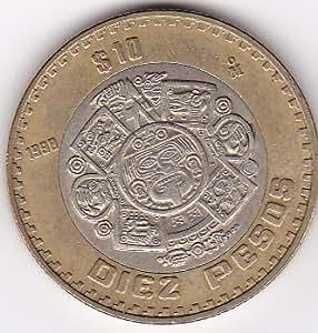 10 peso coin mexico