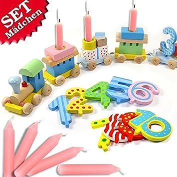 geburtstagsfee Cumpleaños de tracción Set, 28 Piezas, para ...