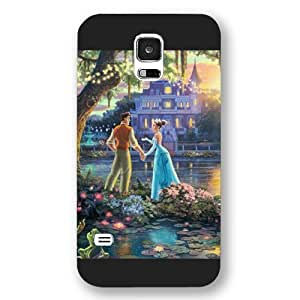 Customized Black Frosted Disney Cartoon Princess And The Frog Samsung Galaxy S5 Case