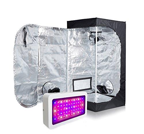 TopoLite 300W LED Full Spectrum Grow Light + 16
