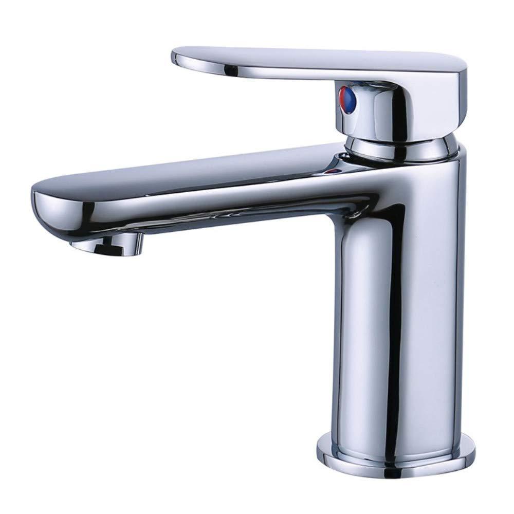 Bathroom Fixtures Basin Faucet,Bathroom Single Handle Double Control Hot and Cold Basin Faucet