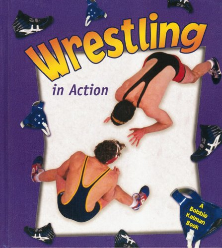 Wrestling in Action (Sports in Action) by Brand: Crabtree Pub Co (Image #2)