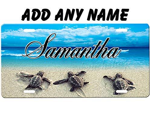 (Sea Turtle License Plate)