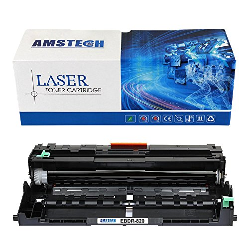Amstech 1-Black Compatible Drum Unit Replacement for Brother HL-L5200DW MFC-L5850DW MFCL5800DW DCP-L5650DN MFC-L5900DW Printer Drum Unit