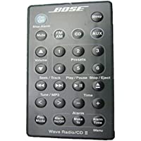 Bose Black Graphite Gray Grey Remote Control for Wave Music System AWRCC1 AWRCC2 aka Wave Radio/CD II