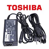 Toshiba Original 65W Laptop Charger for Toshiba Satellite Series Notebook Power-Adapter-Cord