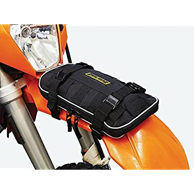 Nelson-Rigg RG-030 Rigg Gear Enduro Front Fender Bag, One Size, Black: Automotive