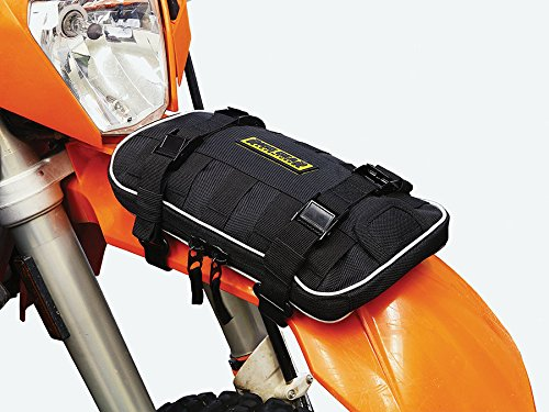 Nelson-Rigg Black One Size Rigg Gear RG-030 Front Fender Bag