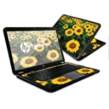 MightySkins Protective Skin Decal Cover for HP Pavilion G6 Laptop with 15.6'' screen wrap sticker skins Sunflowers