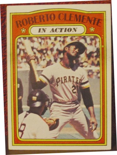 1972 Topps #310 Roberto Clemente - Pittsburgh Pirates Excellent-Near Mint