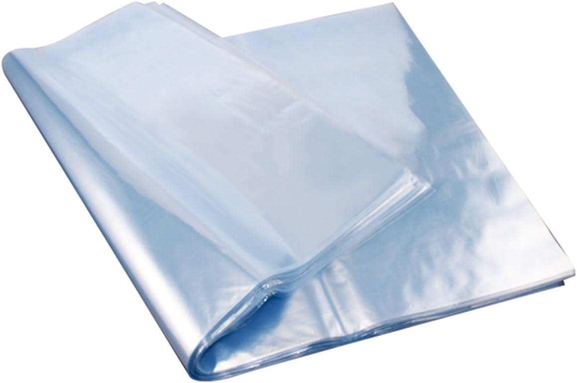 Paquete de 100 bolsas de pl/ástico retr/áctil transparentes de varios tama/ños