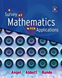 A Survey of Mathmatics with Applications, angel, 0536116466