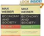Economy and Society (2 Volume Set)
