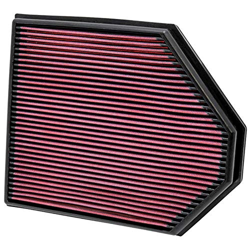K&N engine air filter, washable and reusable:  2011-2016 Chevy/GMC Heavy Duty Diesel Truck (Silverado 2500HD, Silverado 3500HD, Sierra 2500HD, Sierra 3500HD) 33-2466