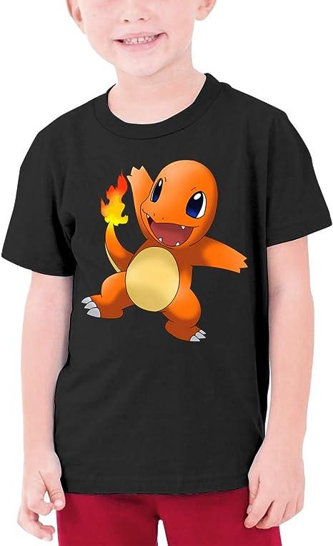 YGYP Camiseta Adolescente Cha-rmander, Camisetas para niños ...