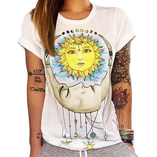 Impression Shirt JLTPH Imprim T Shirt Femmes T 7qnxvPq6F