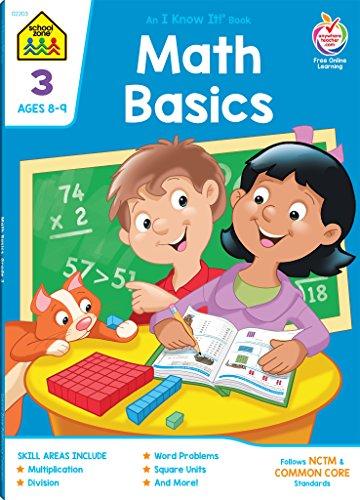 Workbooks-Math Basics Grade 3 (An I Know It ! Combo Book)