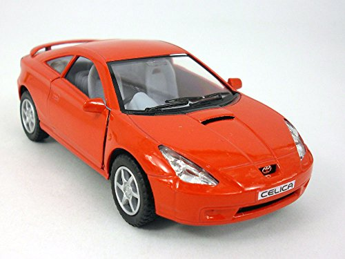 5 inch Toyota Celica 1/34 Scale Diecast Model by Kinsmart - RED