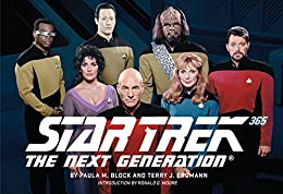 Star Trek: The Next Generation 365 by [Block, Paula M., Erdmann, Terry J., Moore, Ronald D.]