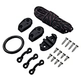 Best Cleat Kits For Kayak Canoes - Kayak and Canoe Anchor Trolley Kit with Pulleys Review