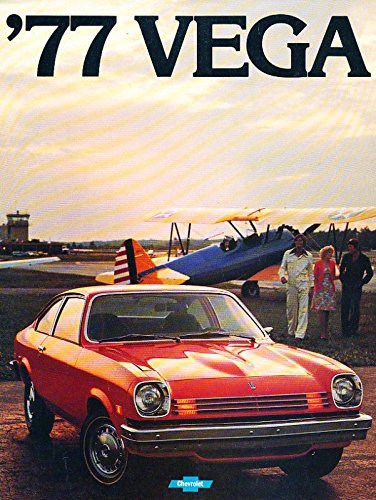 12-page Original Car Dealer Sales Brochure - GT Kammback (Chevrolet Vega Gt)