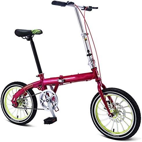 Grimk Bicicleta Plegable De 16 Pulgadas De Aluminio para Unisex ...