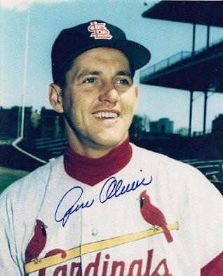 Signed Gene Oliver St. Louis Cardinals 8x10 Photo - Autographed Baseball - St Online Shop Oliver