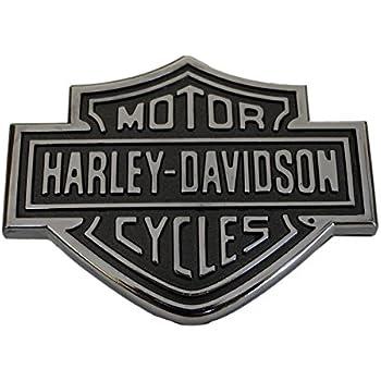 1 FORD HARLEY DAVIDSON BEDSIDE EMBLEM 3D BLACK BADGES F150 F250 F350 BLK