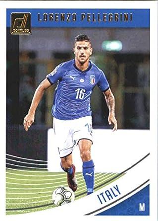c4b2453cd Amazon.com  2018-19 Donruss  146 Lorenzo Pellegrini Italy Soccer Trading  Card  Collectibles   Fine Art