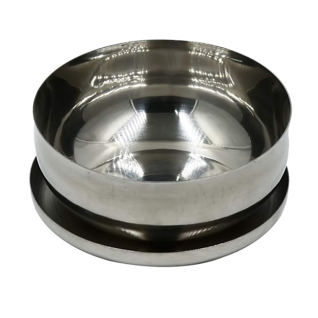 10 cm Buelgma 1 st/ücke Edelstahl Single Layer Bowl Verbr/ühschutz Isolation Bowlnoodle Verdicken Instant Suppensch/üssel