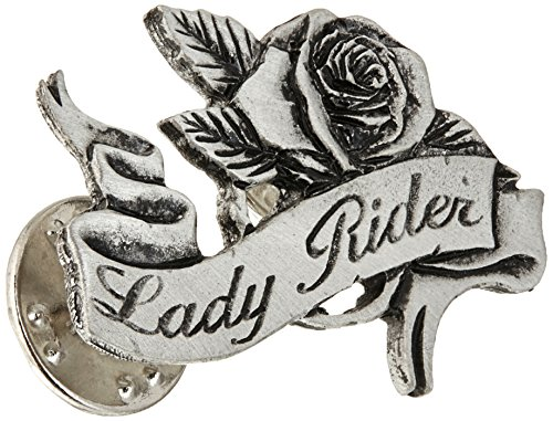 Hot Leathers Lady Rider Pin -