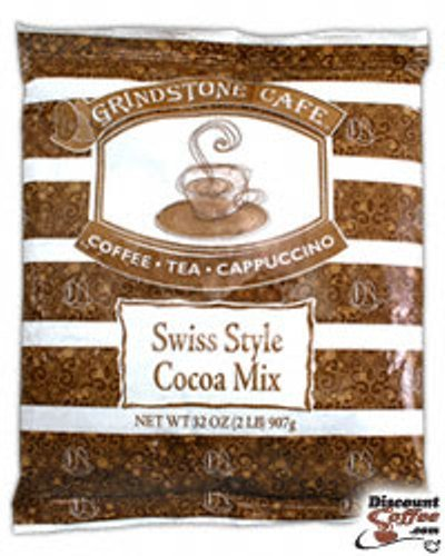 Swiss Style Cocoa Mix Instant Powder Beverage Mix for Vending or Home 6 / 2 lb Bags (Hot Chocolate) ()