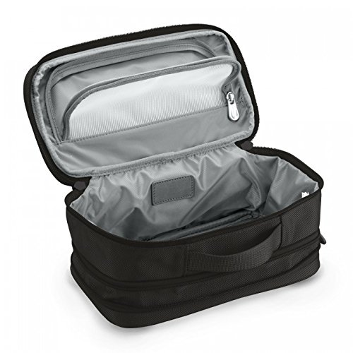 Briggs & Riley Baseline-Expandable Toiletry Kit, Black, One Size