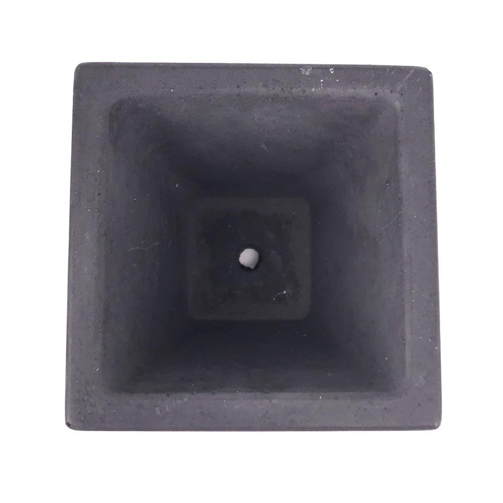 Yves25Tate Las ollas de cemento y los moldes de silicona para la decoración del hogar también se pueden usar para hacer tortas, jabones, budines, ...