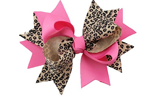 Dogs Kingdom Handmade Polka Dot Swallowtail Dog Cat Puppy Hairpin Mixed Colors Swallowtail Butterfly Knot Dog Hairpin Bow Hairpin Jewelry 10Pcs Swallowtail by Dogs Kingdom (Image #6)