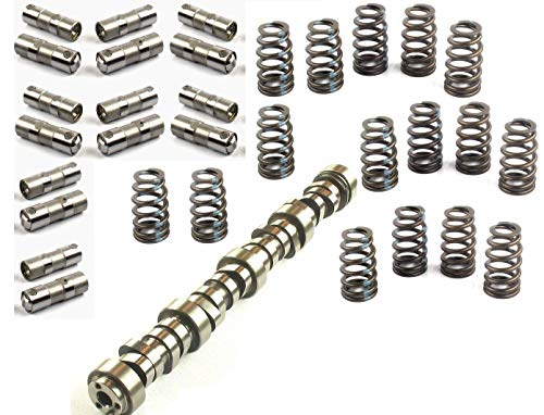 Elgin Industries E-1838P Sloppy Stage 1 Street Performance Camshaft Lifters & Springs compatible with GM Chevy LS 4.8 5.3 6.0 6.2 560″/.560″ Lift
