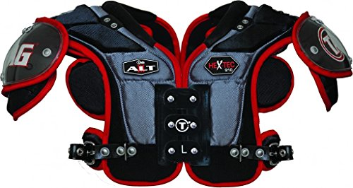 (TAG ALT III 910 Football Shoulder Pad for Quarterback and Wide Receiver (Small))