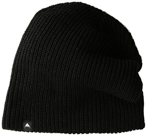 Burton Ski Hats (Burton Unisex All day Long Beanie, True Black, One Size)