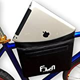 Waterproof Bike Bag Pannier for Top Tube Handlebar Frame Bicycle ★ Protect your iPad, Large Tablets and Huge Phones from Bad Weather ★ Padded and Shock Absorption ★ Special Pocket for Cards, Keys