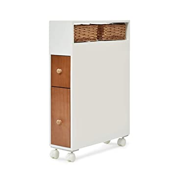 Amazon.de: 5 IN 1 TABLE XIAOYAN Holz Wc Side Cabinet mit ...