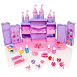 Little Fairy Princess Cosmetic Castle - Girls Make-Up Playset