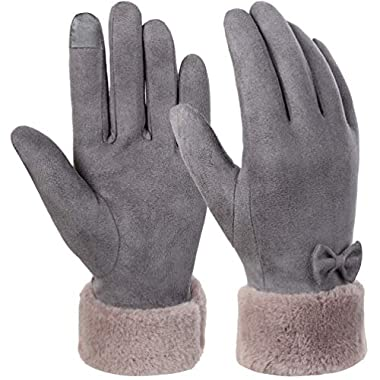 VBIGER Womens Gloves Touch Screen Winter Gloves