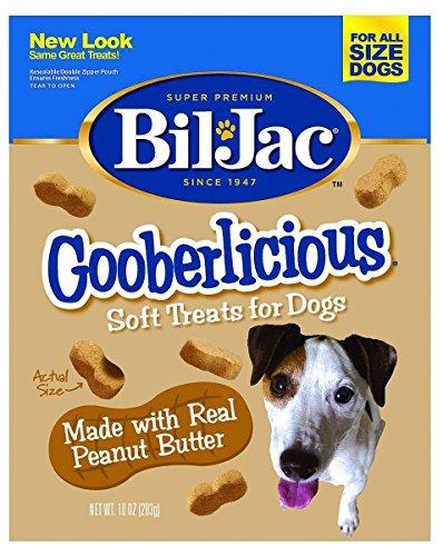 Bil-Jac Gooberlicious Treats, Peanut Butter